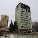Zničená prešovská bytovka. Foto: Polícia SR