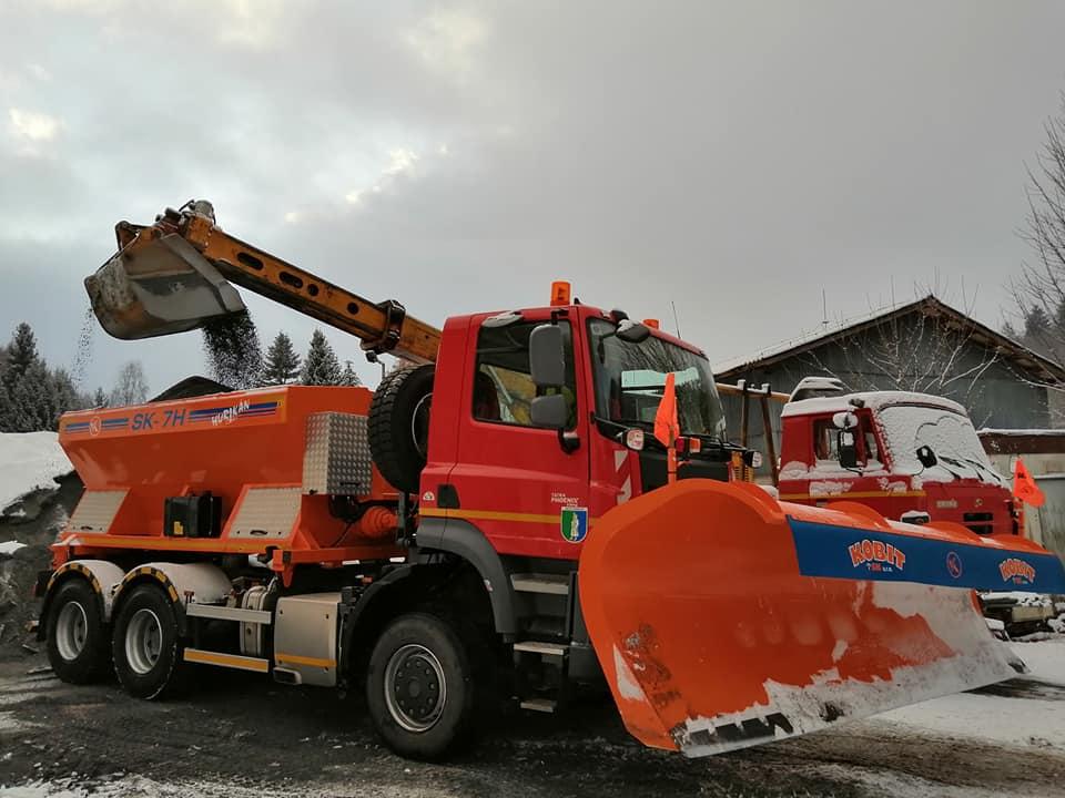 O sneh na hriňovských cestách sa postará nová tatrovka